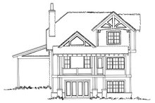 House Plan Design - Country Exterior - Rear Elevation Plan #942-46