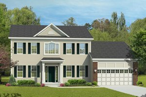 New England House Plans Style Home