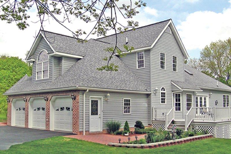 Traditional Exterior - Rear Elevation Plan #314-277 - Houseplans.com