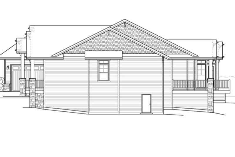 Prairie Exterior - Other Elevation Plan #509-350 - Houseplans.com