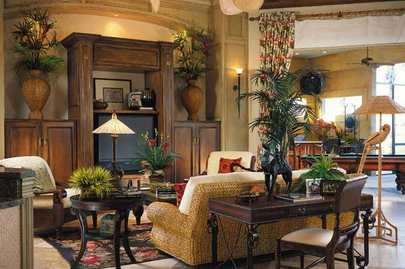 Mediterranean Interior - Other Plan #930-311 - Houseplans.com