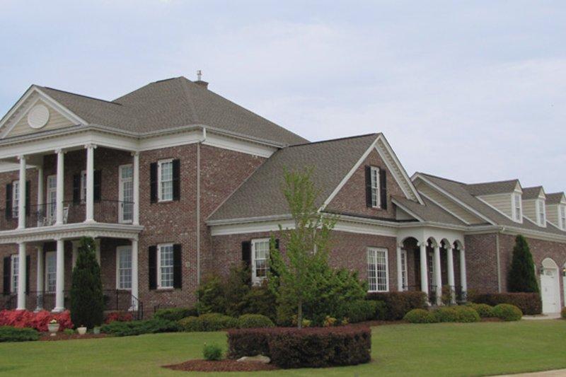 Classical Exterior - Front Elevation Plan #137-308 - Houseplans.com