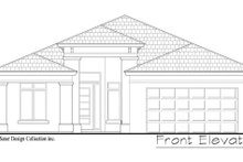 House Design - Contemporary Exterior - Front Elevation Plan #930-494