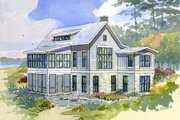 Cottage Style House Plan - 3 Beds 2.5 Baths 2299 Sq/Ft Plan #901-7 Exterior - Front Elevation