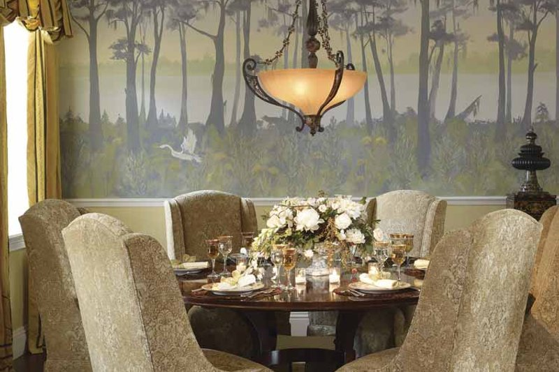 Southern Interior - Dining Room Plan #930-354 - Houseplans.com
