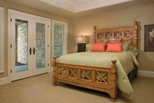 Architectural House Design - Classical Interior - Bedroom Plan #928-55