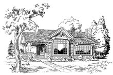 Cabin Floor Plan - Other Floor Plan Plan #942-14