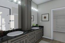 House Design - Ranch Interior - Master Bathroom Plan #1060-101