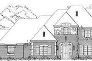 European Style House Plan - 4 Beds 4.5 Baths 4222 Sq/Ft Plan #141-113