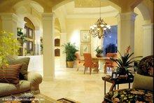 Mediterranean Interior - Family Room Plan #930-190