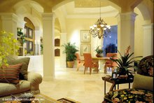 Home Plan - Mediterranean Interior - Family Room Plan #930-190