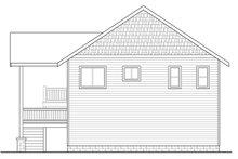 Craftsman Exterior - Rear Elevation Plan #124-963