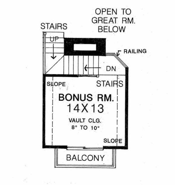 Country Floor Plan - Other Floor Plan #310-617