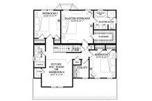 Cottage Floor Plan - Upper Floor Plan Plan #137-268