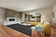 Modern Style House Plan - 4 Beds 2.5 Baths 3389 Sq/Ft Plan #496-17 Interior - Family Room