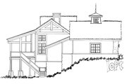 Country Style House Plan - 3 Beds 2.5 Baths 1960 Sq/Ft Plan #942-24