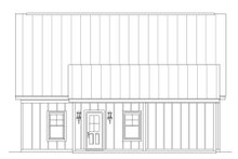 House Plan Design - Cabin Exterior - Other Elevation Plan #932-214