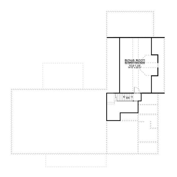 Dream House Plan - Farmhouse Floor Plan - Upper Floor Plan #1064-98