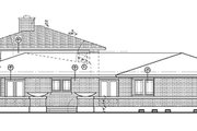 Prairie Style House Plan - 5 Beds 3.5 Baths 3278 Sq/Ft Plan #72-179 Exterior - Other Elevation