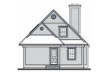 House Plan Design - Beach Exterior - Rear Elevation Plan #23-866