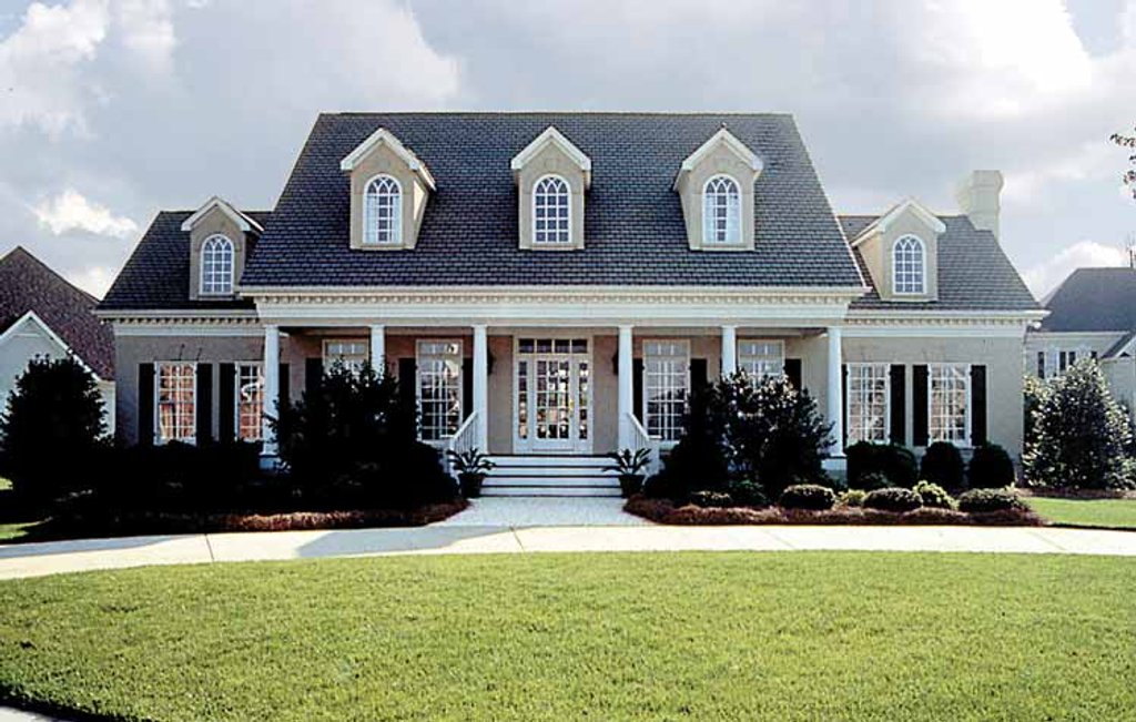 Classical style house plan 4 beds 3 5 baths 3338 sq ft for Types of colonial homes