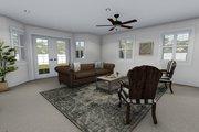 Farmhouse Style House Plan - 4 Beds 2.5 Baths 3356 Sq/Ft Plan #1060-1 Interior - Family Room
