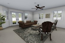 Architectural House Design - Family Room