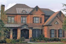 Dream House Plan - Traditional Exterior - Front Elevation Plan #54-333