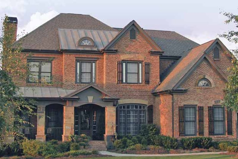 House Design - Traditional Exterior - Front Elevation Plan #54-333