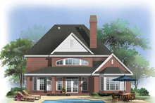 Traditional Exterior - Rear Elevation Plan #929-840