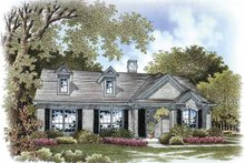 Ranch Exterior - Front Elevation Plan #999-170