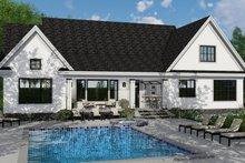 Farmhouse Exterior - Rear Elevation Plan #51-1140