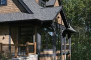 Craftsman Style House Plan - 4 Beds 3.5 Baths 4968 Sq/Ft Plan #928-32 Exterior - Rear Elevation