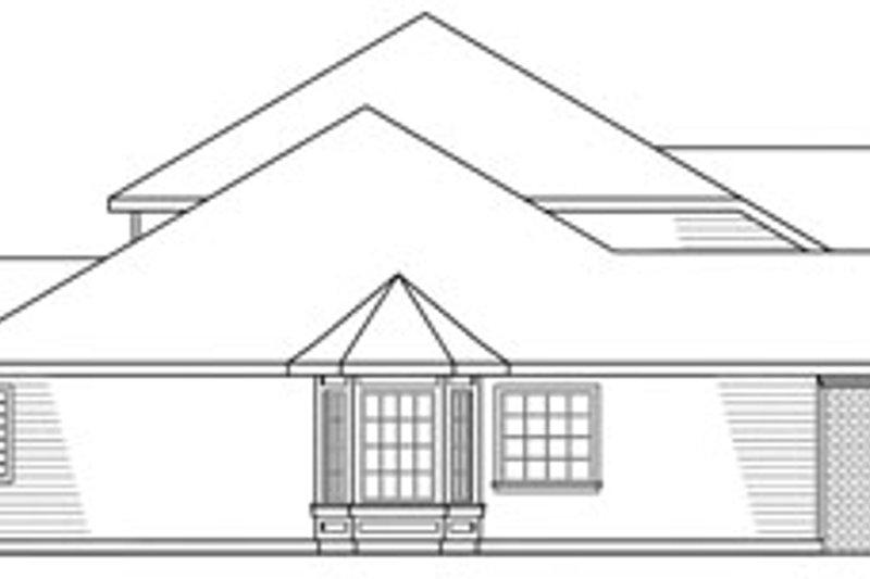 European Exterior - Other Elevation Plan #124-319 - Houseplans.com