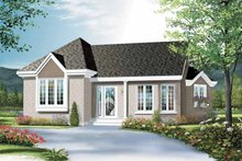 Home Plan - Bungalow Exterior - Front Elevation Plan #23-2357