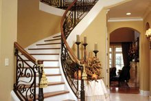 Architectural House Design - Country Interior - Entry Plan #952-182