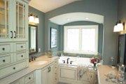 Craftsman Style House Plan - 5 Beds 4 Baths 4175 Sq/Ft Plan #928-21 Interior - Master Bathroom