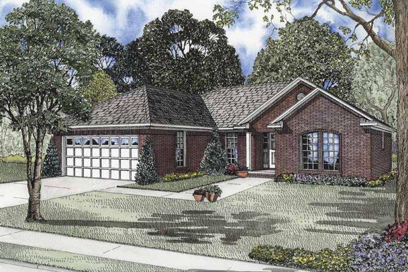 House Plan Design - Ranch Exterior - Front Elevation Plan #17-2841
