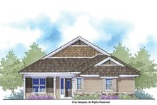 House Plan Design - Country Exterior - Front Elevation Plan #938-65