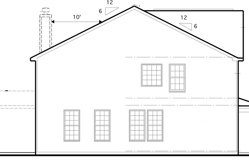 Traditional Exterior - Other Elevation Plan #1053-50 - Houseplans.com