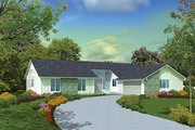 Modern Style House Plan - 4 Beds 2.5 Baths 2305 Sq/Ft Plan #57-509 Exterior - Front Elevation