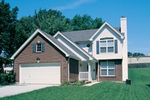 Dream House Plan - Traditional Exterior - Front Elevation Plan #57-177