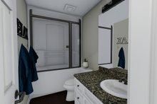 Ranch Interior - Master Bathroom Plan #1060-3