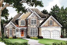House Design - Country Exterior - Front Elevation Plan #927-120