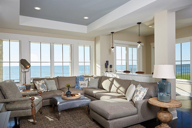 Country Interior - Family Room Plan #928-297 - Houseplans.com