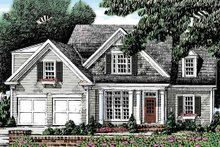 Country Exterior - Front Elevation Plan #927-471