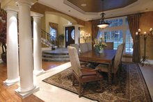 House Plan Design - Country Interior - Dining Room Plan #132-483