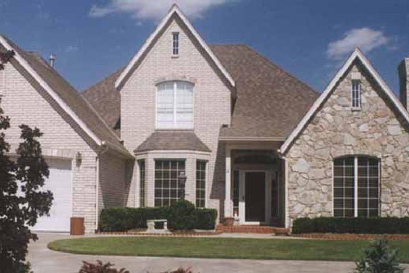 Home Plan - European Exterior - Front Elevation Plan #52-245