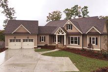 Architectural House Design - Craftsman Exterior - Front Elevation Plan #437-59
