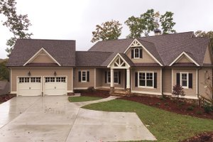 House Design - Craftsman Exterior - Front Elevation Plan #437-59